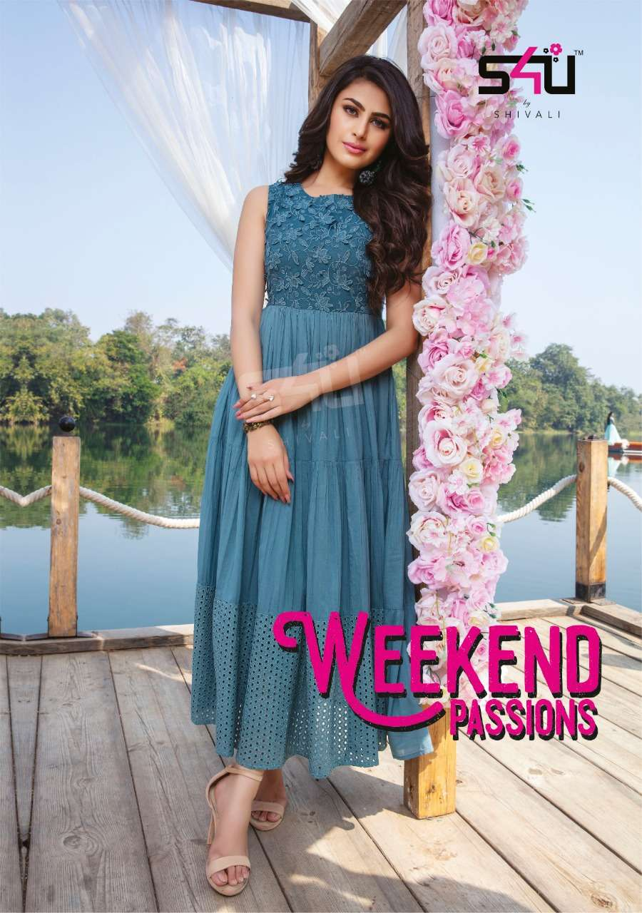 s4u by shivali weekend passions a collection layered readymade dresses new designs for summer 2021