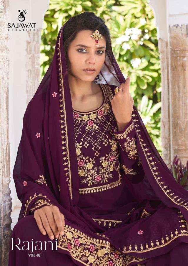 sajawat rajani vol 2 readymade eid special party wear salwar kameez