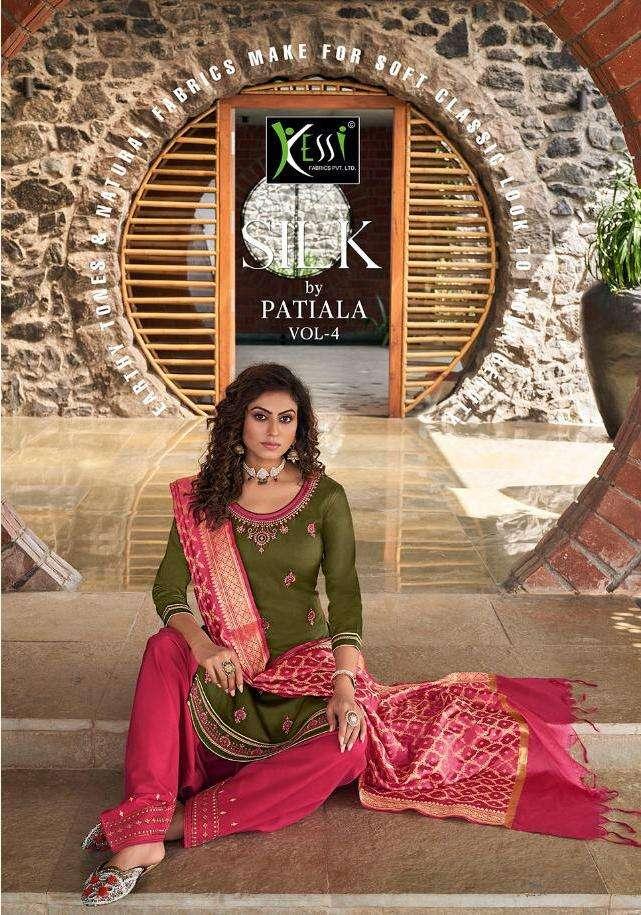 silk by patiyala vol 4 by kessi jam silk work punjabi salwar kameez