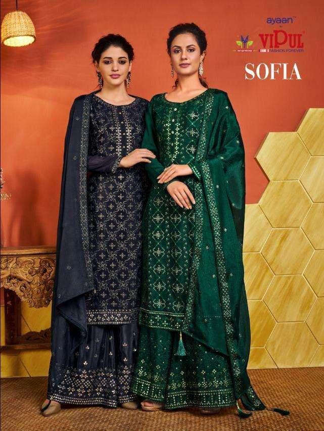 sofia by vipul designer long fancy salwar kameez