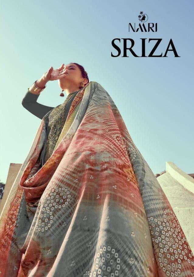 sriza by naari chinon silk casual wear fancy salwar kameez