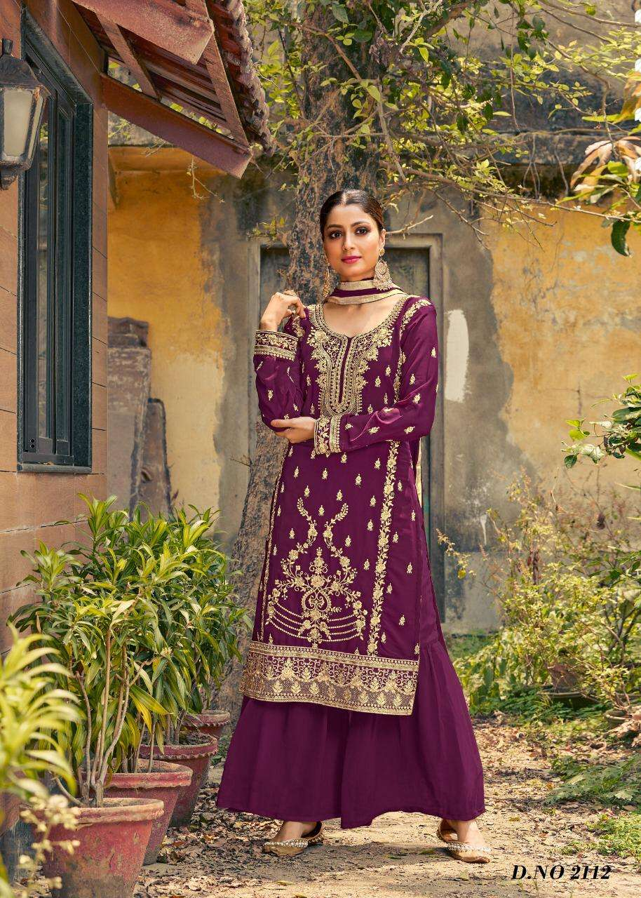 twisha vol 21 georgette embroidery fancy suits