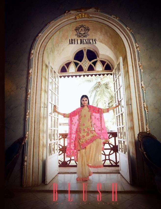 Blush By Arya Designs 5201-5208 Series Branded Ladies Dresses Exporter