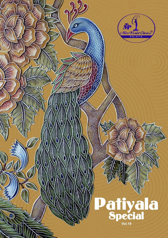 Miss World Choice Patiyala Vol 19 Cotton Regular Wear Patiyala Style Suits At Chipest Rate