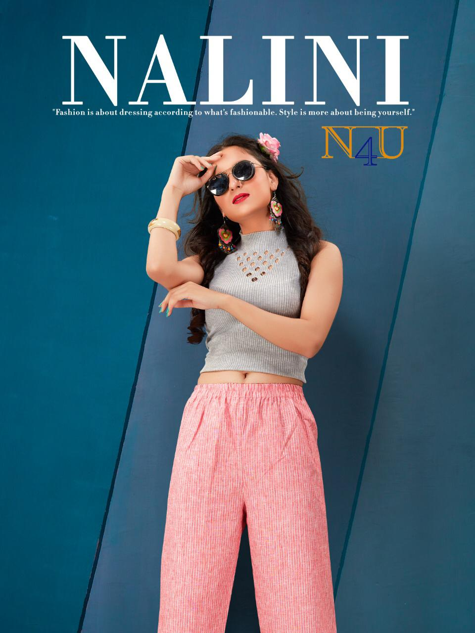 Nalini By Neha Fashion Linen Style Casual Wear Fancy Pant Collection
