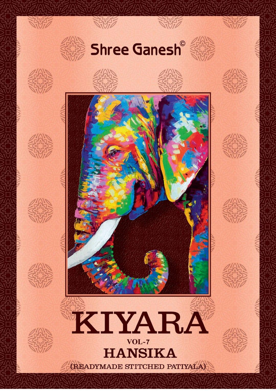 Shree Ganesh Hansika Kiyara Vol 7 Readymade Cotton Patiyala Special Suits