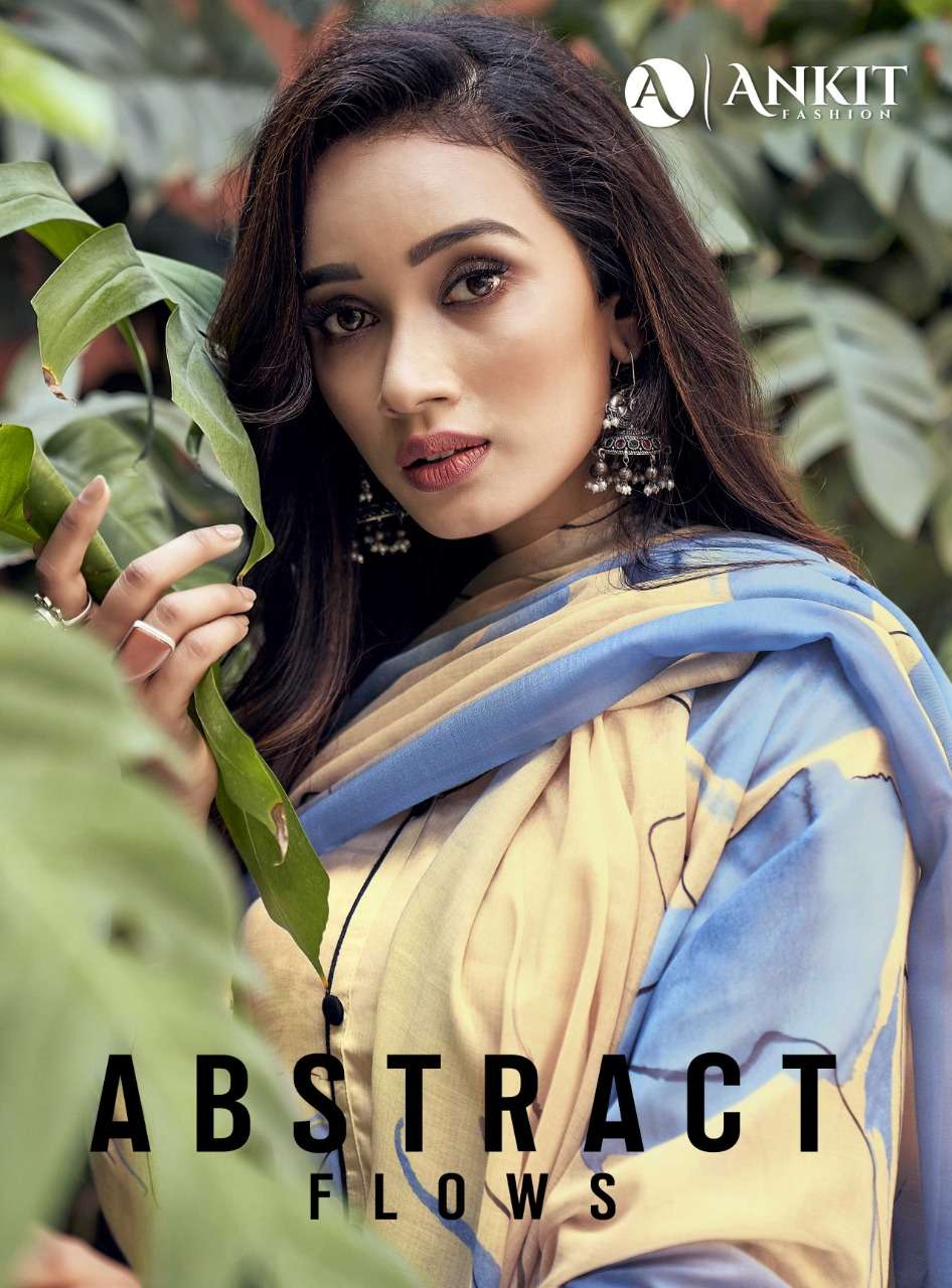 Abstract Flows By Ankit Fashion Cotton Satin Fancy Dresses