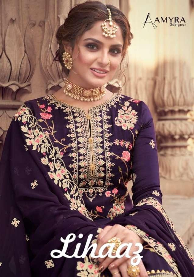 Amyra Lihaaz Viscose Upada Sharara Salwar Kameez