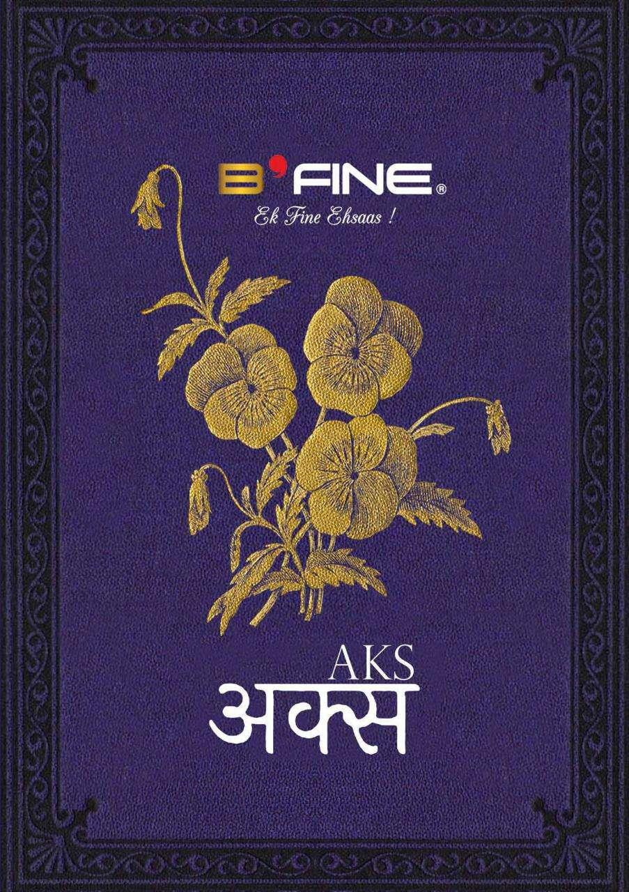 B Fine Aks Silk Designer Fancy Saree Wholesaler