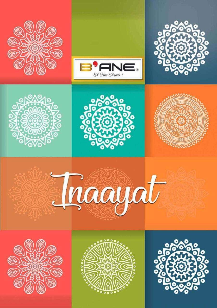B Fine Inaayat Silk Exclusive Fancy Sarees