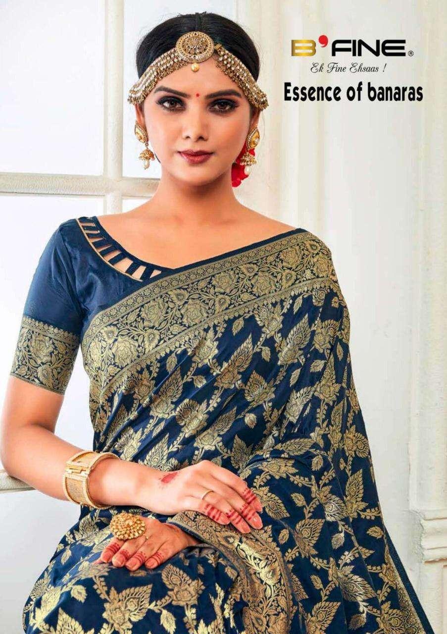 B Fine The Essence Of Banaras Silky Saree Collection