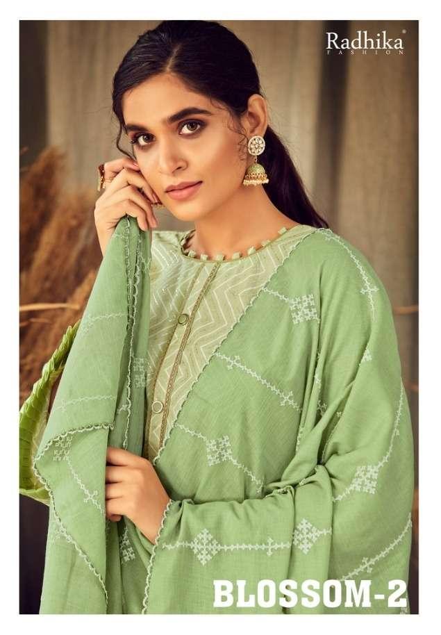 Blossom Vol 2 By Radhika Cotton Designer Suits