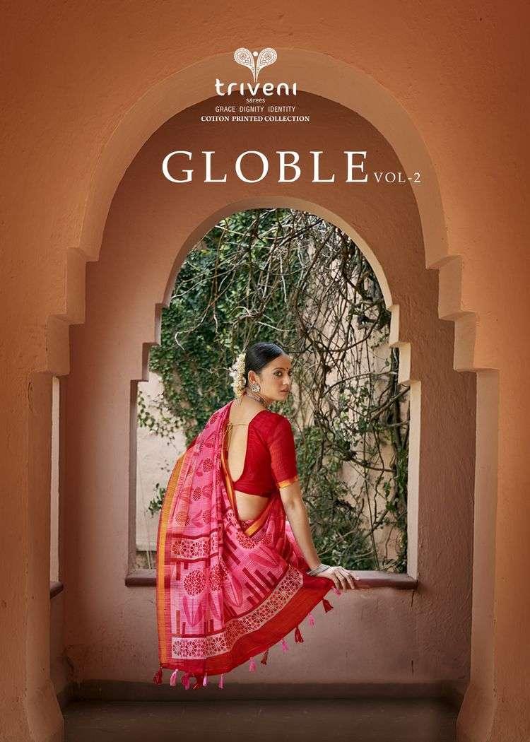 Globle Vol 2 By Triveni Saree Exporter
