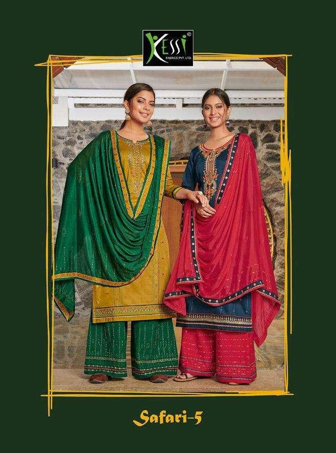 Kessi Safari Vol 5 Jam Silk Fancy Dresses Supplier