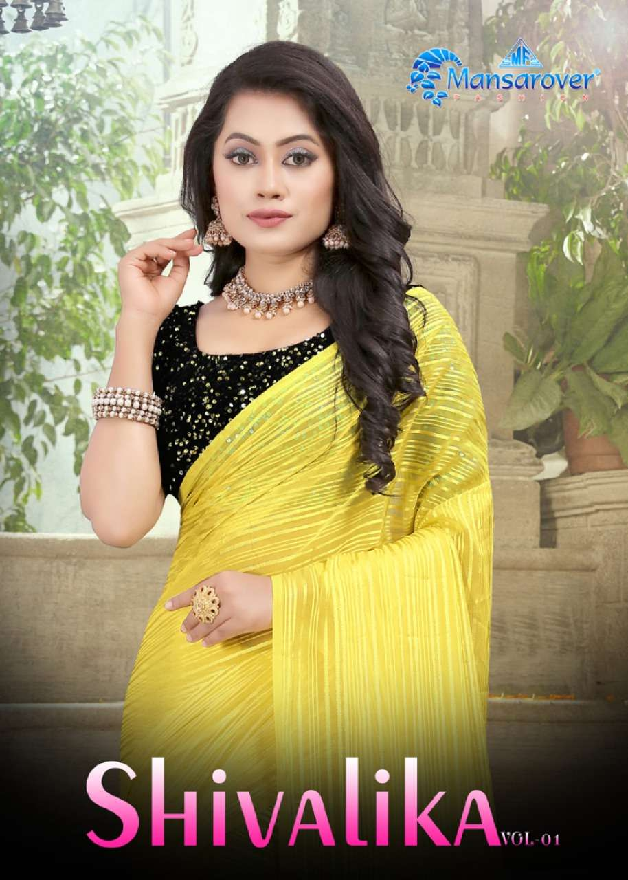 Mansarover Shivalika Weightless Jari Designer Saree