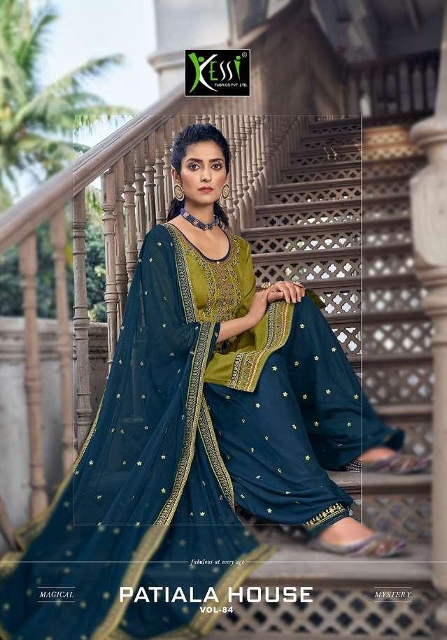 Patiyala House Vol 84 By Kessi Jam Silk Work Suits