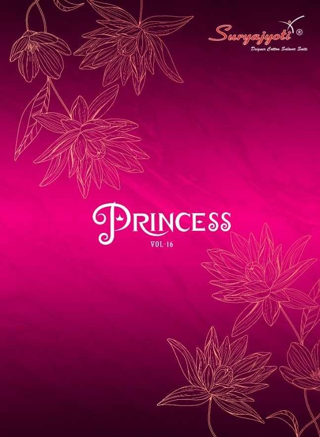Princess Vol 16 By Suryajyoti Rayon Printed Suits