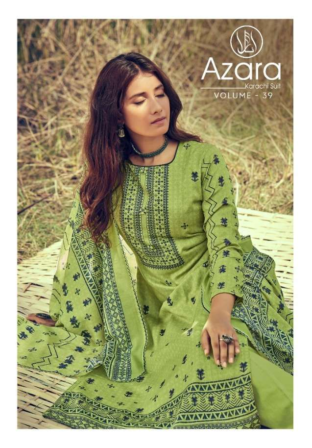 Radhika Azara Vol 39 Jam Cotton Fancy Dresses