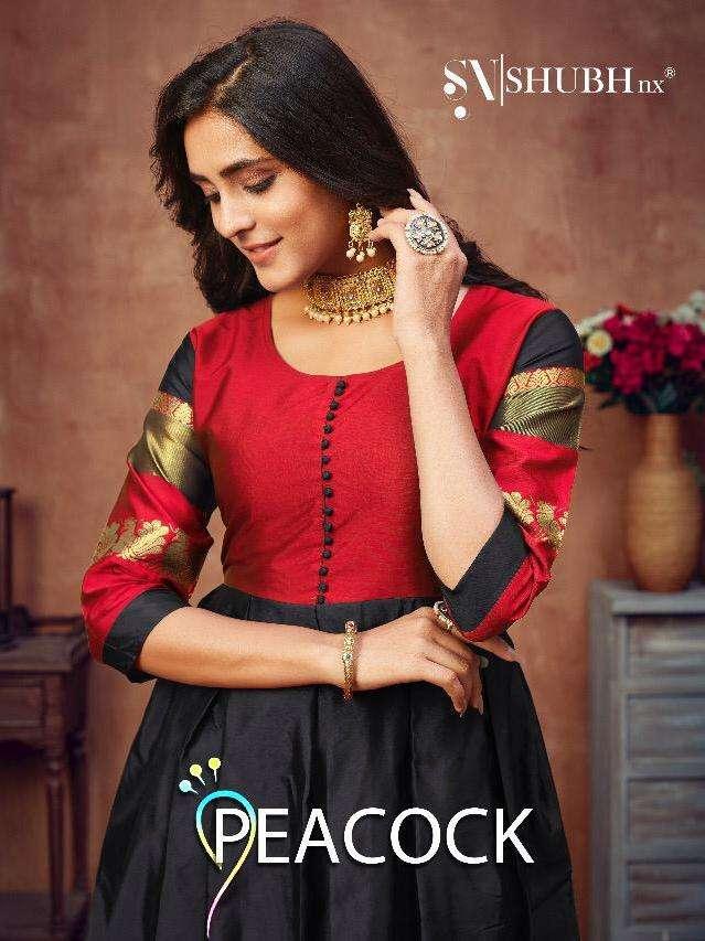 Shubh Nx Peacock Casual Fancy Long Kurti