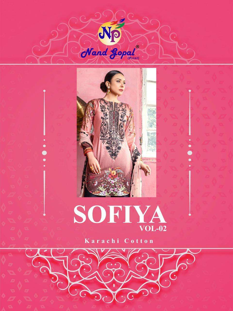 Sofiya Vol 2 By Nand Gopal Cotton Dress Materials