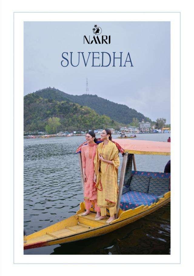 Suvedha By Naari Bember Silk Classy Look Suits Supplier