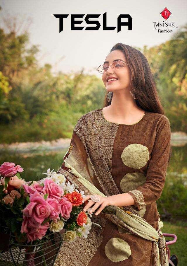Tanishk Tesla Lawn Cambric Designer Salwar Kameez