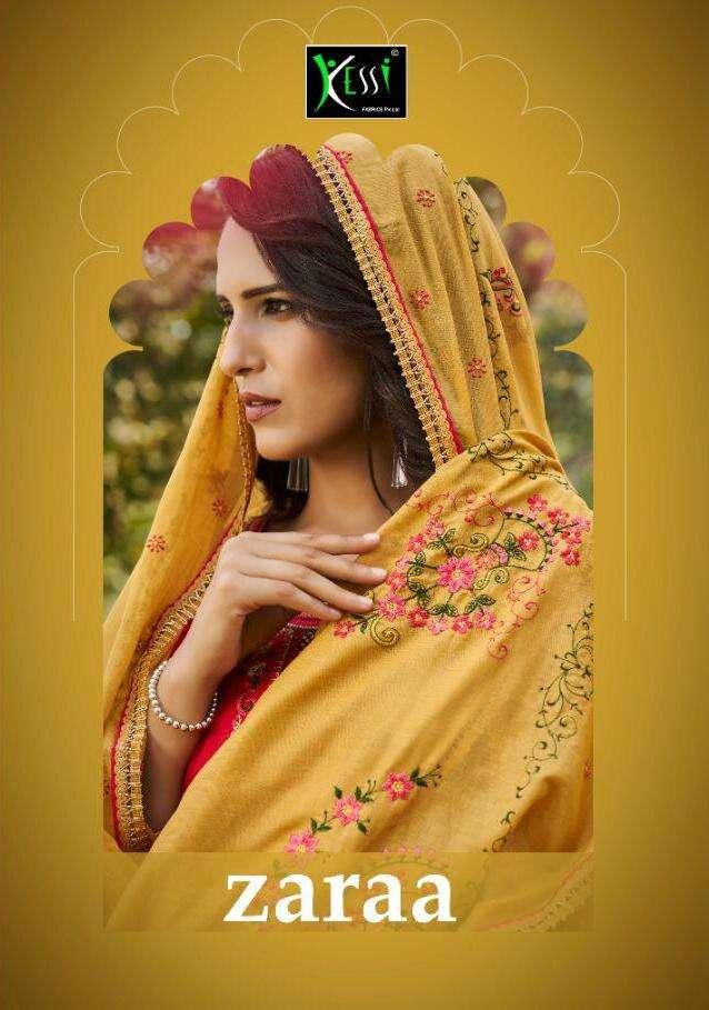 Zaraa By Kessi Jam Silk Fancy Salwar Kameez