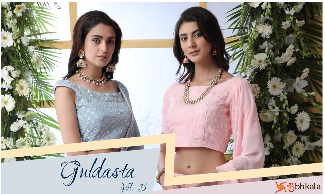Guldasta Vol 5 by shubhkala designer lehenga exports