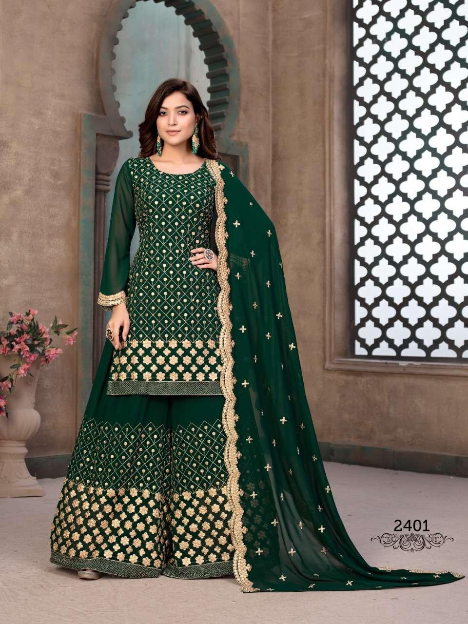Aanaya Vol 124 2400 Series Party Wear Dresses