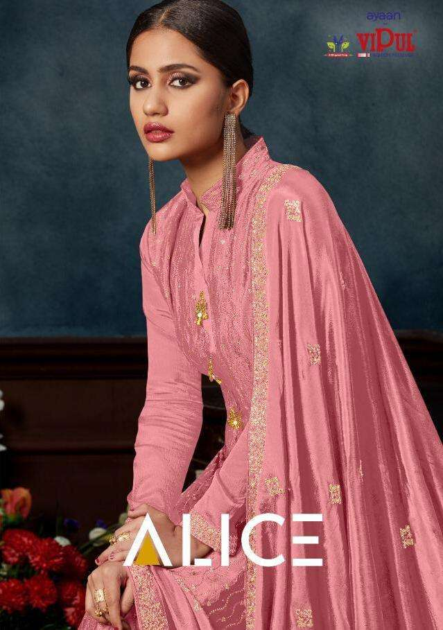 Alice Dcat 62 By Vipul Chinnon Exclusive Fancy Dresses