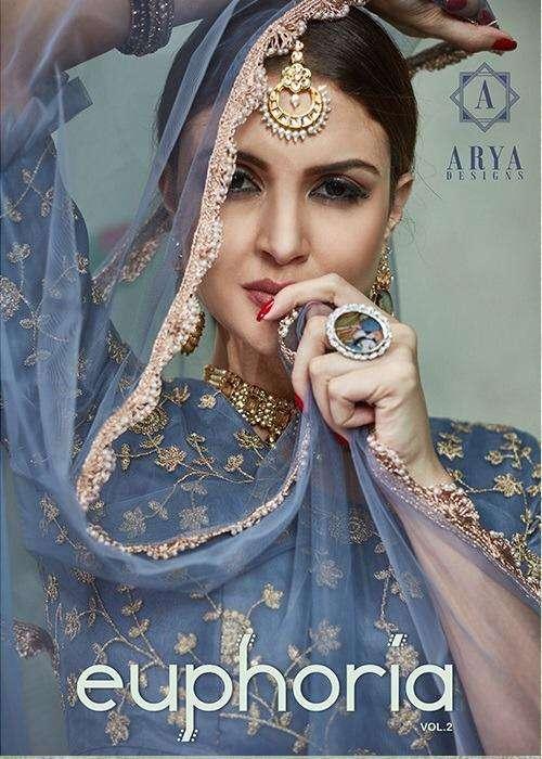 Arya Euphoria Vol 2 Fancy Net Designer Lehenga