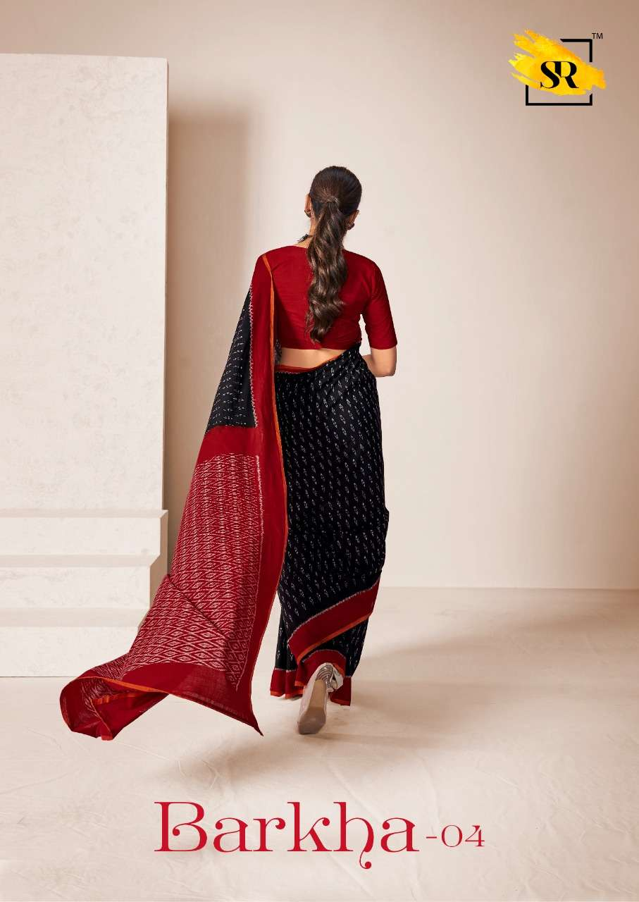 Barkha Vol 4 By Sr Brand Mulmul Cotton Saree Exporter