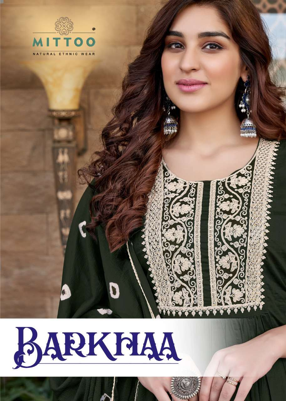 Barkhaa By Mittoo Readymade Cotton Fancy Dresses