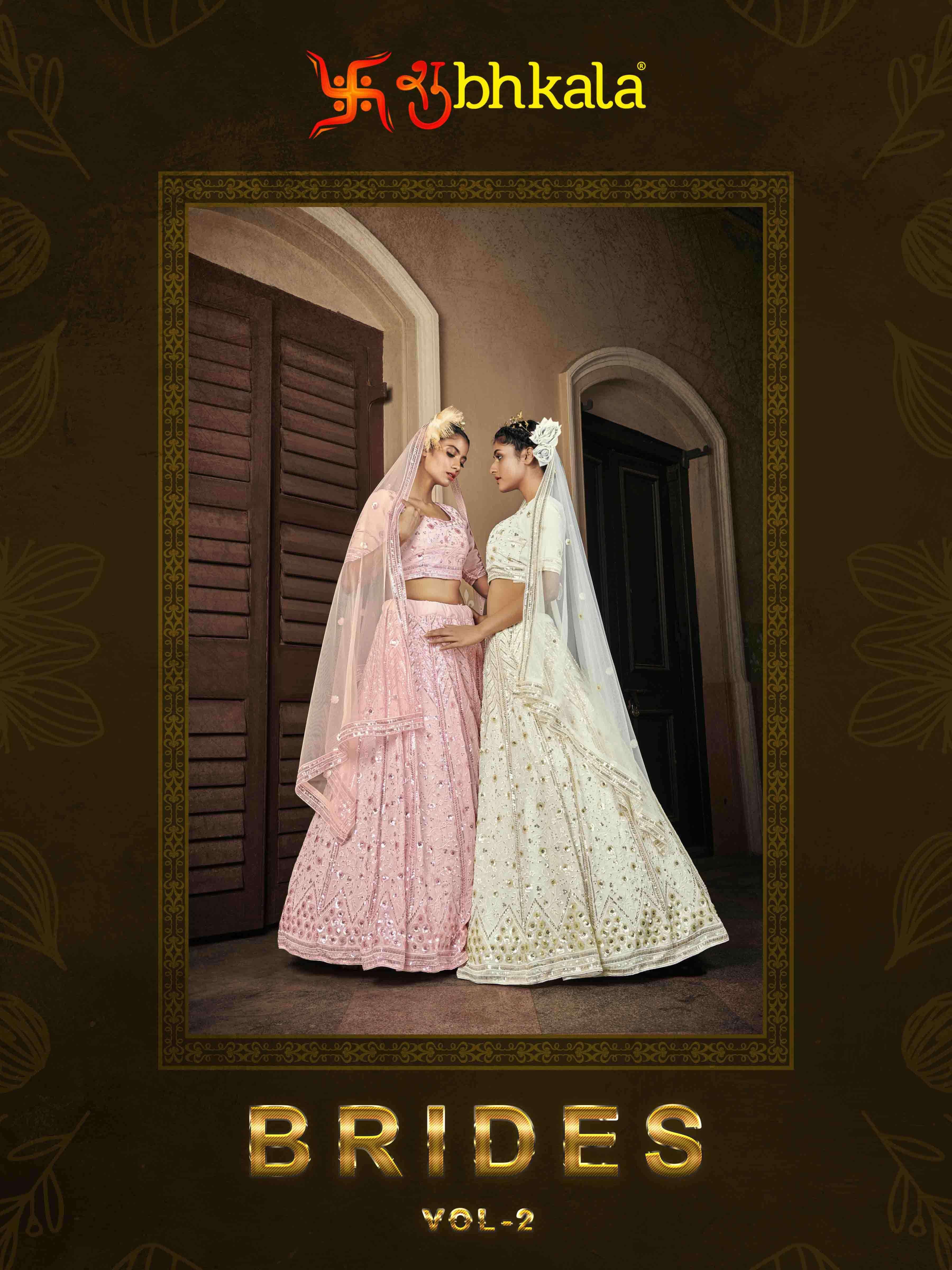 Brides Vol. 2 Shubhkala  Exclusive Bridal Lehenga Choli Collection