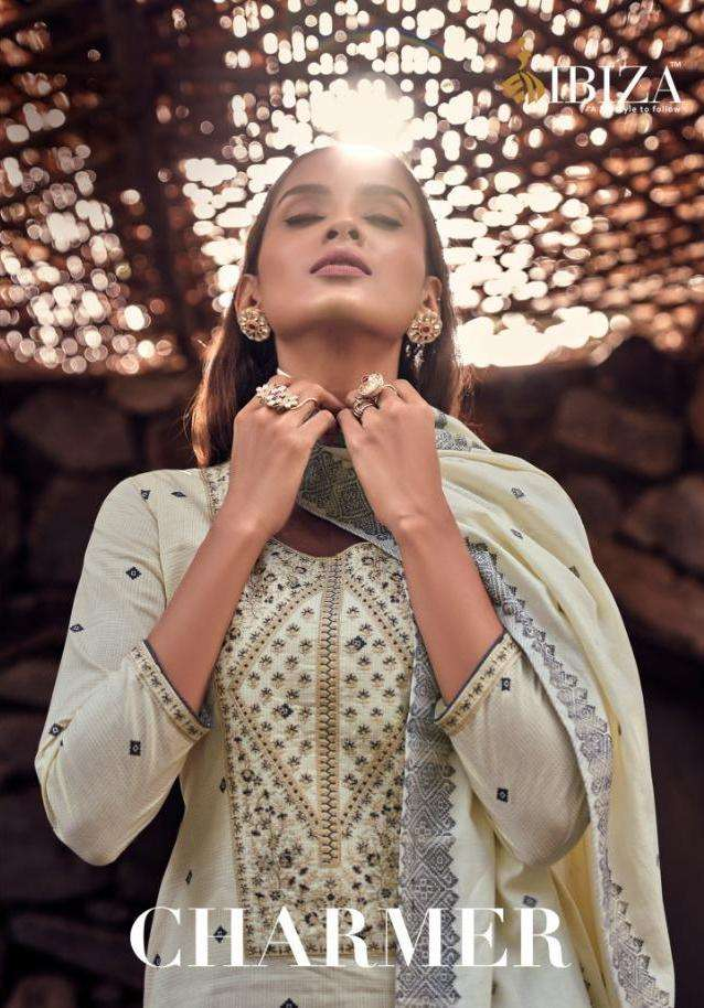 Charmer By Ibiza Lawn Cotton Designer Fancy Suits
