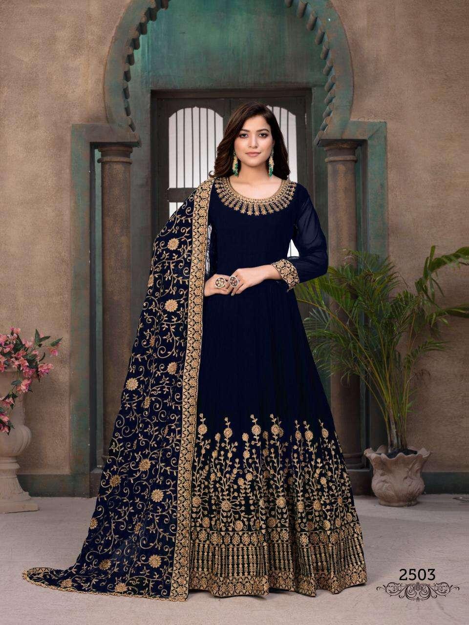 Dani Aanaya Vol 125 Georgette Long Suits