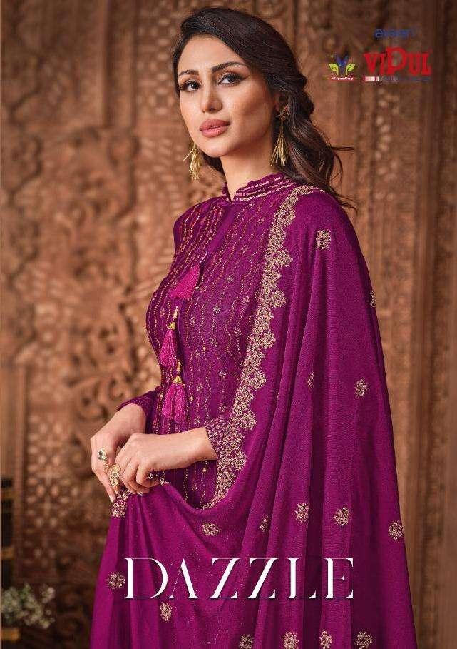 Dazzle By Vipul Silk Georgette Pakistani Suits