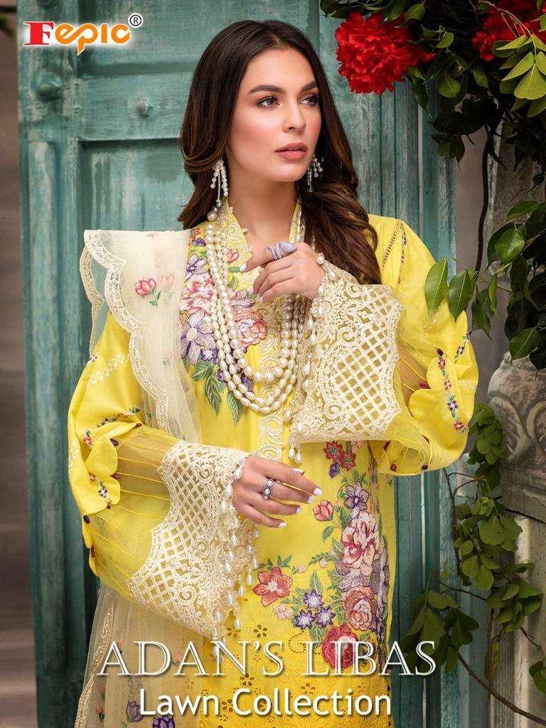 Fepic Adans Libas Lawn Cotton Pakistani Suits