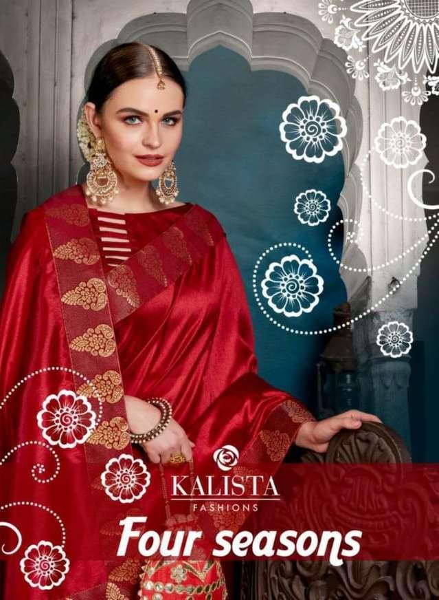 Four Seasons By Kalista Casual Wear Fancy Saree