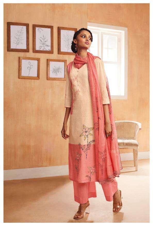 Ganga Ethereal Printed Handwork Fancy Dresses