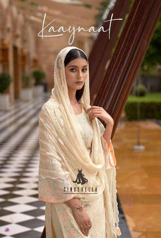 Kaaynaat By Cinderella Cotton Silk Fancy Suits