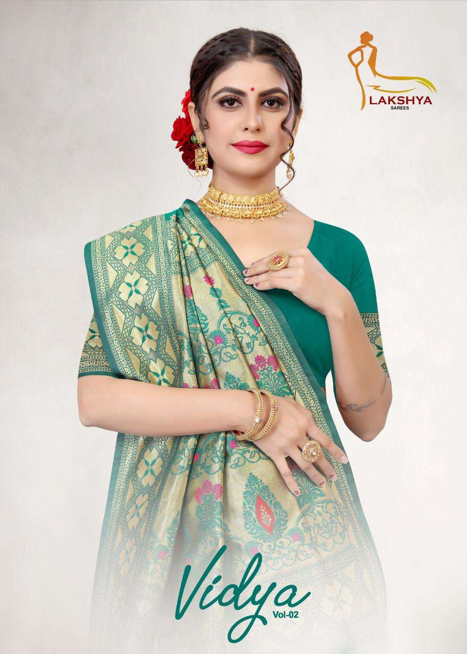Lakshya Saree Vidhya Vol 2 Silk Jacquard Saree
