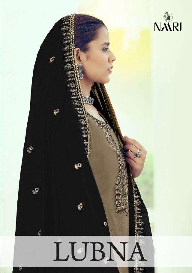 Lubna By Naari Russian Silk Ethnic Wear Suits