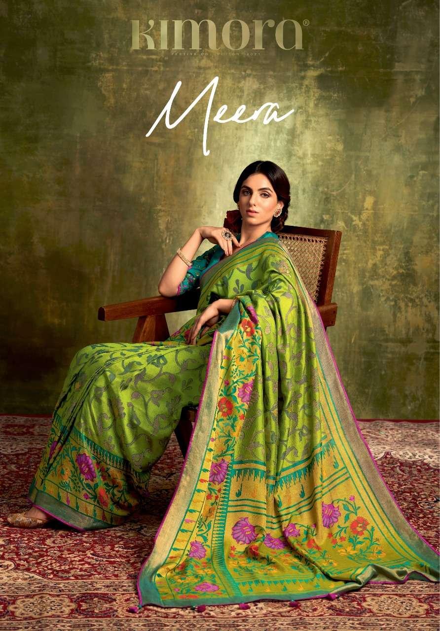 Meera By Kimora Brasso Designer Ethnic Saree