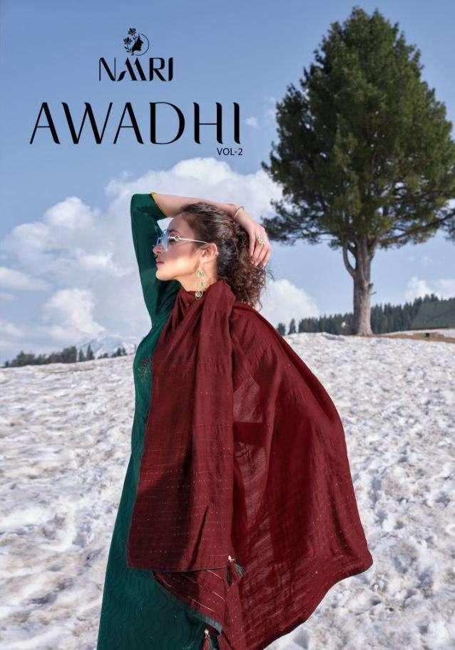 Naari Awadhi Vol 2 Jam Silk Designer Suits