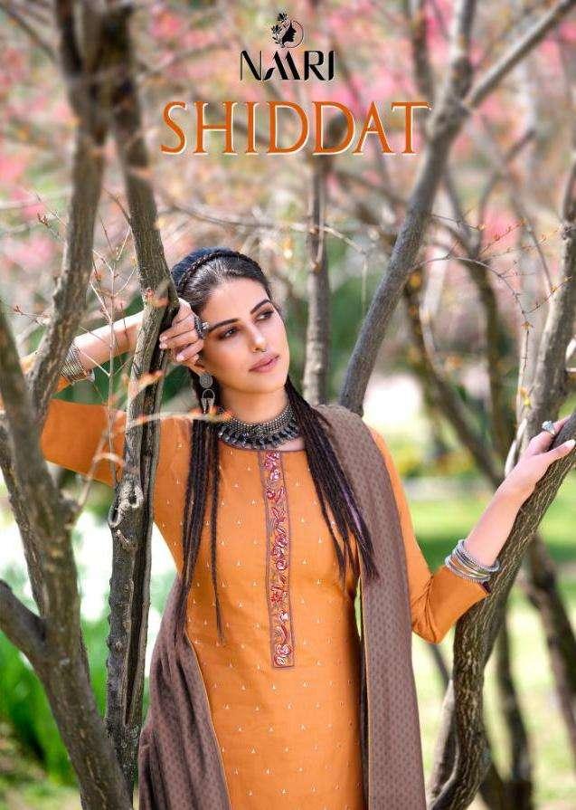 Naari Shiddat Jam Silk Cotton Designer Salwar Kameez