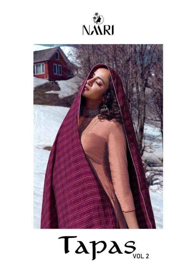 Naari Tapas Vol 2 Tussar Silk Fancy Dresses