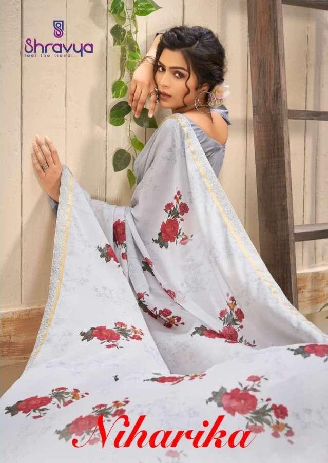 Niharika By Shravya Printed Designer Saree
