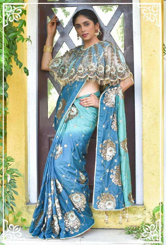 Peafowl Vol 74 Silk Embroidery Fancy Sarees