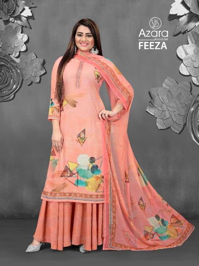 Radhika Feeza Crape Fancy Dress Materials
